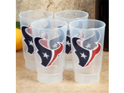 NFL Houston Texans 4-Pack 16oz. Plastic Cups 9SIA1055847319