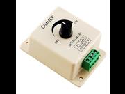 Manual Dimmer Switch for LED Strip Light, 12V 8A Mountable w