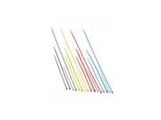 6In Nylon Cable Ties Blue 100Pk