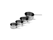 Fat Daddios 4-Piece Stainless Steel Measuring Cup Set 9SIA10558K3364