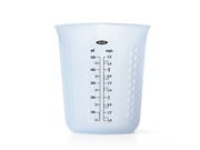 OXO Good Grips 2-Cup Squeeze & Pour Silicone Measuring Cup with Stay-Cool Pattern 9SIA10558K2744
