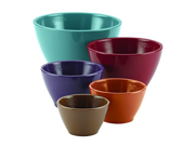 Rachael Ray Cucina Melamine Nesting Measuring Cups, 5-Piece Set, Assorted 9SIA10558K3323