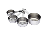 Kitchen Craft Stainless Steel Measuring Cups Set (Pack of 2) 9SIA10558K2892