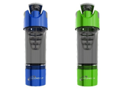 Cyclone Cup Shaker Bottle 20oz - Set of 2 - Blue and Green 9SIA10558K3470