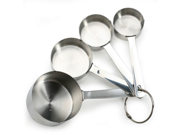 Danesco Stainless Steel Measuring Cups, Set of 4 9SIA10558K3439