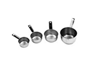 Johnson Rose 7329 Stainless Steel 4 Piece Measuring Cup Set