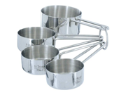 4-Piece Stainless Steel Measuring Cup Set 9SIA10558K2811
