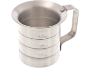 Browne (ML05) 1/2 qt Aluminum Liquid Measuring Cup 9SIV16A66U4966
