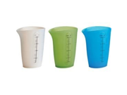 Trudeau Flexible 2 Cup Measuring Beaker - Set of 3 9SIV16A66U3403
