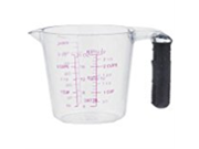 Weijun 110832 Measuring Cup With Rubber Grip, 2 Cup (Pack of 24) 9SIA10558K3404