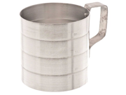 Browne (M20) 2 qt Aluminum Dry Measuring Cup 9SIA10558K3224