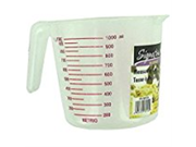 Storage Essentials Home Kitchen Plastic Transparent One Quart Measuring Cup 24 Pack With Artwork Label 9SIA10558K3150
