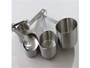 Stainless Steel Measuring Cups Including Stainless Measuring Spoon Set, No BPA! 9SIA10558K2809