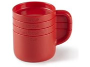 Umbra Cuppa Measuring Cup Set, Red 9SIV16A66U2772