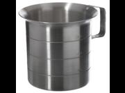 Browne (ML40) 4 qt Aluminum Liquid Measuring Cup 9SIA10558K2932