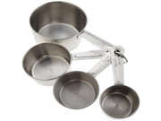 Good Cook Stainless Steel Measuring Cup 4-Count (Pack of 2) 9SIA10558K3134