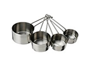 4 Piece Stainless Steel Measuring Cup Set 9SIAD245DX1779