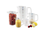 Rubbermaid Commercial Bouncer Measuring Cup, 8oz, Clear - one measuring cup. 9SIA10558K2925
