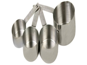 Thunder Group Stainless Steel Measuring Cup Set by Thunder Group 9SIA10558K3572