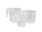Plastic Measuring Cup Set - 3 Piece 9SIA10558K3291