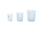 OXO OXO Good Grips 3 Piece Squeeze & Pour Silicone Measuring Cup Set, Blue 9SIA10558K3115