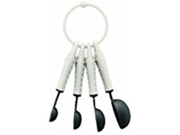 Bodum K11390 913 Bistro Measuring Spoons Off White Set of 4