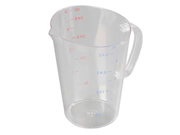 Carlisle 4314507 1 Gallon Clear Polycarbonate Measuring Cup 9SIA10558K3283