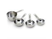 KitchenAid Gourmet Stainless Steel Measuring Cup, Set of 4 9SIA10558K2794