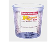 Quick Mix Measuring/Mixing Cups 5 Quarts #9174 LARGE 174 oz (25/Box) Graduated 9SIA10558K3445