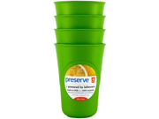 Preserve Reusable Cups Apple Green - 16 oz Each / Pack of 4 9SIA10558K3362