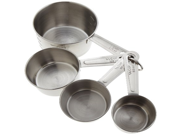 Good Cook Classic Stainless Steel Measuring Cups, Set of 4 9SIAD245DS5178