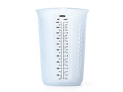 OXO Good Grips 4-Cup Squeeze & Pour Silicone Measuring Cup with Stay-Cool Pattern 9SIA10558K3069