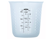 OXO Good Grips 1-Cup Squeeze & Pour Silicone Measuring Cup with Stay-Cool Pattern 9SIA10558K2896