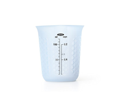 OXO Good Grips Mini Squeeze & Pour Silicone Measuring Cup with Stay-Cool Pattern 9SIA10558K3146