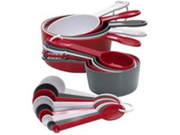 Progressive GT-3520 International 19-Piece Measuring Cup and Spoon Set (Discontinued by Manufacturer) 9SIA10558K3342