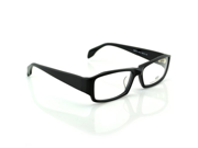 New Pensee Eyeglasses Prescription Black Rectangle Optical Frame 56mm Demo Lens