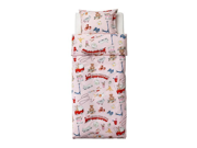 Ikea Lekrum Duvet Cover and Pillowcase, Twin