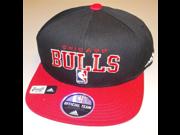 Chicago Bulls Flat Visor Snap Back Adidas Hat Youth 4 7 YRS NK24B