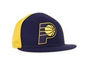 NBA Indiana Pacers Flat Brim Flex Fit Wool Hat Large X Large