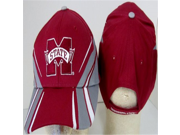 NCAA Officially Licensed Mississippi State Bulldogs Embroidered Team Logo Lightning Design Baseball Hat Cap Lid Toque 9SIA10558X2584