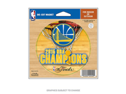 Golden State Warriors Official NBA 4.5 inch x 6 inch 2015 NBA Finals Champions Die Cut Car Magnet by Wincraft 073723