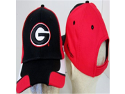 NCAA Officially Licensed Georgia Bulldogs Embroidered Team Logo Trim Style Baseball Hat Cap Lid Toque
