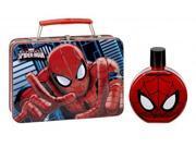Disney Spiderman 2 Pcs Set: 3.4 Edt Sp + Metal Lunch Box Gift Set:kids#gift Set:ki 9SIA10559M9893