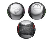 Superman vs Lex Luthor Logos DC Comics Black Limited Edition 1 of 2500 Baseball 9SIA10559X7313