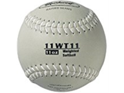 Markwort Color Coded Weighted 11 Inch Softball 11 Ounce Grey