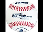 Champro Collegiate Specifications Baseball White 9 Inch