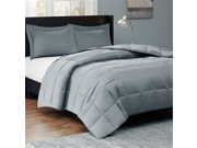 Sleep Philosophy Kassidy Thinsulate Comforter Mini Set, Twin, Grey