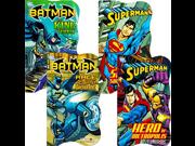 DC Comics Batman vs Superman Board Books for Toddlers - Set of Four Books (2 Batman Books, 2 Superman Books) 9SIA1055AP6463