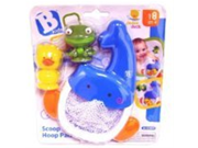 B kids Scoop N Hoop Pals Bathtub Toy Discontinued by Manufacturer
