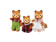 Calico Critters #CC1492 Red Panda Family - New Factory Sealed 9SIA1055AP6362